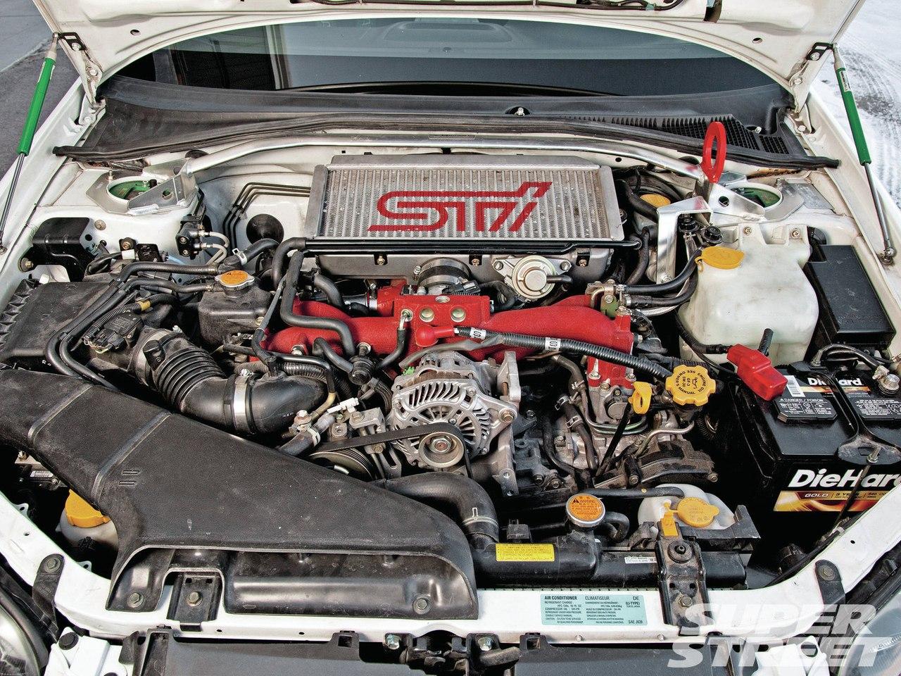2005 subaru impreza wrx sti engine